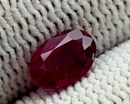 0.92CT MOZAMBIQUE NATURAL RUBY  BEST QUALITY GEMSTONE IIGC11