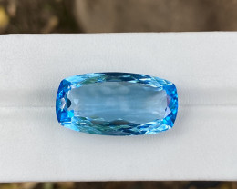 Natural Sky Blue Topaz 26 Cts Good Luster