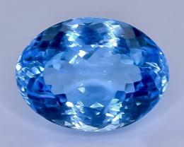 12.76 Crt Topaz  Faceted Gemstone (Rk-39)