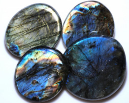 450.00 CTS  LABRADORITE DICS  PARCEL -IDEAL WIRE WRAPPING [STS2049]
