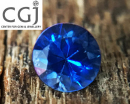 Certified - 0.31ct - Blue Sapphire