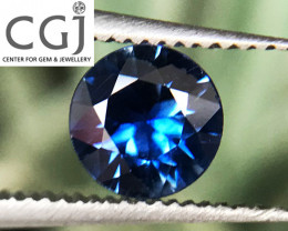 Certified - 0.33ct - Royal Blue Sapphire