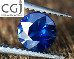 Certified - 0.27ct - Royal Blue Sapphire