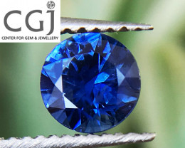 Certified Unheated - 0.34ct - Royal Blue Sapphire