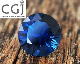 Certified Unheated - 0.29ct - Royal Blue Sapphire
