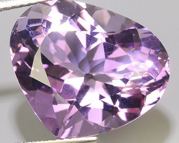 11.05 CTS AWESOME NATURAL PEAR WONDERFUL~VIOLET AMETHIYST GEM!!