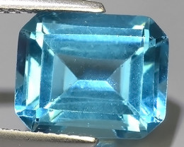 5.00 CTS WONDERFUL NATURAL SWISS TOPAZ OCTAGON EXCELLENT!!