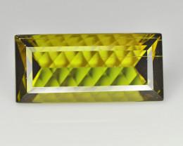 Tourmaline 5.02 Cts Green Concave cut BGC1195