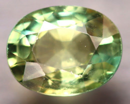 Apatite 2.17Ct Natural Paraiba Green Color Apatite D0609/B44