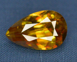Natural 2.20 carat Sphene With Amazing Spark
