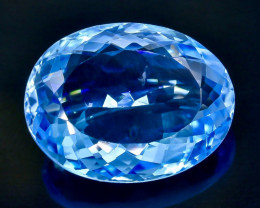 15.50 Crt Natural Topaz Faceted Gemstone.( AB 65)
