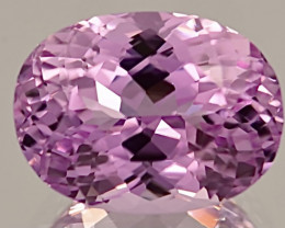 17.55 ct Kunzite With Fine Cutting Gemstoes
