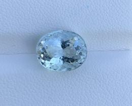 Natural Aquamarine 3.53 Cts Good Quality Gemstone