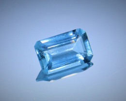 5.94cts Natural GIA Certified Aquamarine  Octagon Cut