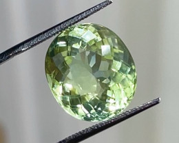 15.90 ct Green Tourmaline from DRC, Africa $3600 retail value