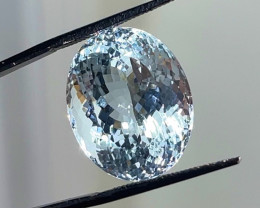 26.54 ct GIA Certified Aquamarine - Greenish Blue - $4900 retail value