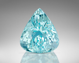 8 ct GIA Certified Paraiba Tourmaline - Neon Blue-Green $12,000 retail