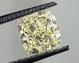 3.01 ct GIA Certified Yellow Diamond - VS Clarity - $20,000+ Retail