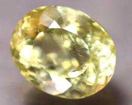 Heliodor 2.83Ct Natural Yellow Beryl E0707/A56