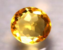 Citrine 3.47Ct Natural VVS Golden Yellow Color Citrine E0720/A2