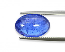 6.18 Cts Stunning Natural Tanzanite Cab