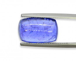 10.82 Cts Stunning Natural Tanzanite Cab