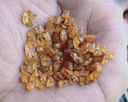 50 Ct Natural Orange Garnet Rough Gemstone Parcel VA2580