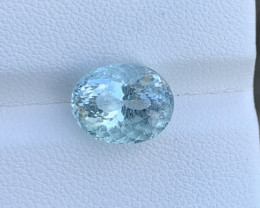 Natural Aquamarine 4.58 Cts Good Quality Gemstone