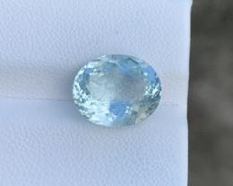 Natural Aquamarine 5.04 Cts Good Quality Gemstone