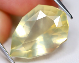 Bytownite 8.22Ct VS Fancy Pear Cut Natural Yellow Bytownite A0605