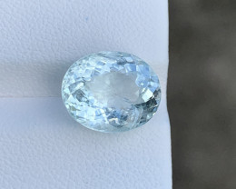 Natural Aquamarine 5.29 Cts Good Quality Gemstone