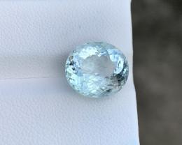 Natural Aquamarine 5.99 Cts Good Quality Gemstone