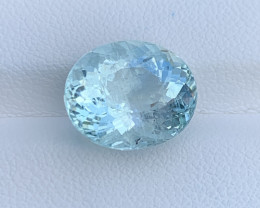 Natural Aquamarine 6.91 Cts Good Quality Gemstone