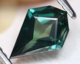 Blue Sapphire 1.33Ct VVS Master Cut Natural Australian Blue Sapphire A0716