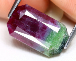 Ruby Zoisite 5.85Ct Octagon Cut Natural Unheated Ruby Zoisite B0710