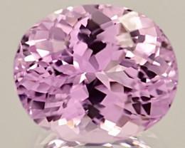 12.95 ct  Kunzite With Fine Cutting Gemstones
