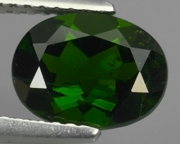 2.25 Cts MARVELOUS RARE OVAL NATURAL TOP GREEN- CHROME DIOPSIDE