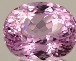24.62 ct Kunzite With Fine Cutting Gemstone