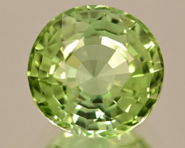 7.68 ct Afghanistan Mint Green Tourmaline With Excellent luster and Fine Cu