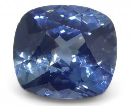 1.1ct Cushion Blue Sapphire