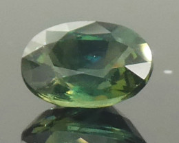 1.17ct Oval Teal Blue Sapphire