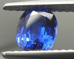 0.85ct Cushion Blue Sapphire