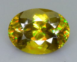 Rare AAA Fire 2.61 ct Sphene Sku-63