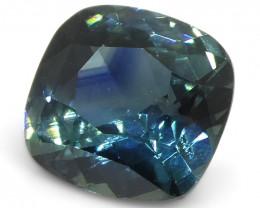0.76ct Cushion Blue Sapphire