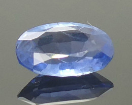 0.91ct Oval Blue Sapphire Unheated