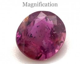 1ct Oval Pink Sapphire Unheated-$1 No Reserve Auction