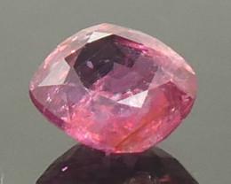 1.19ct Cushion Pink Sapphire Unheated
