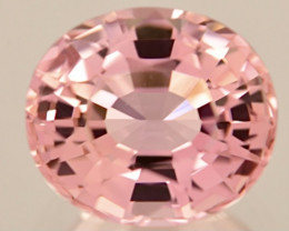 6.53 ct Padparadscha Colors Tourmaline With Master Cutting  Gemstone