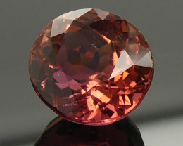 2.71ct Orange Pink 'Padparadsha Colour' Tourmaline-$1 No Reserve Auction
