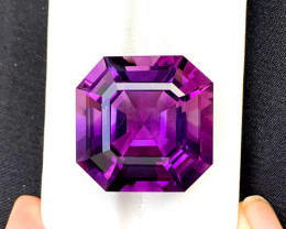 39.15 Carats Amethyst Loose Gemstones from Afghanistan ~